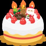 クリスマスケーキを作ろう!