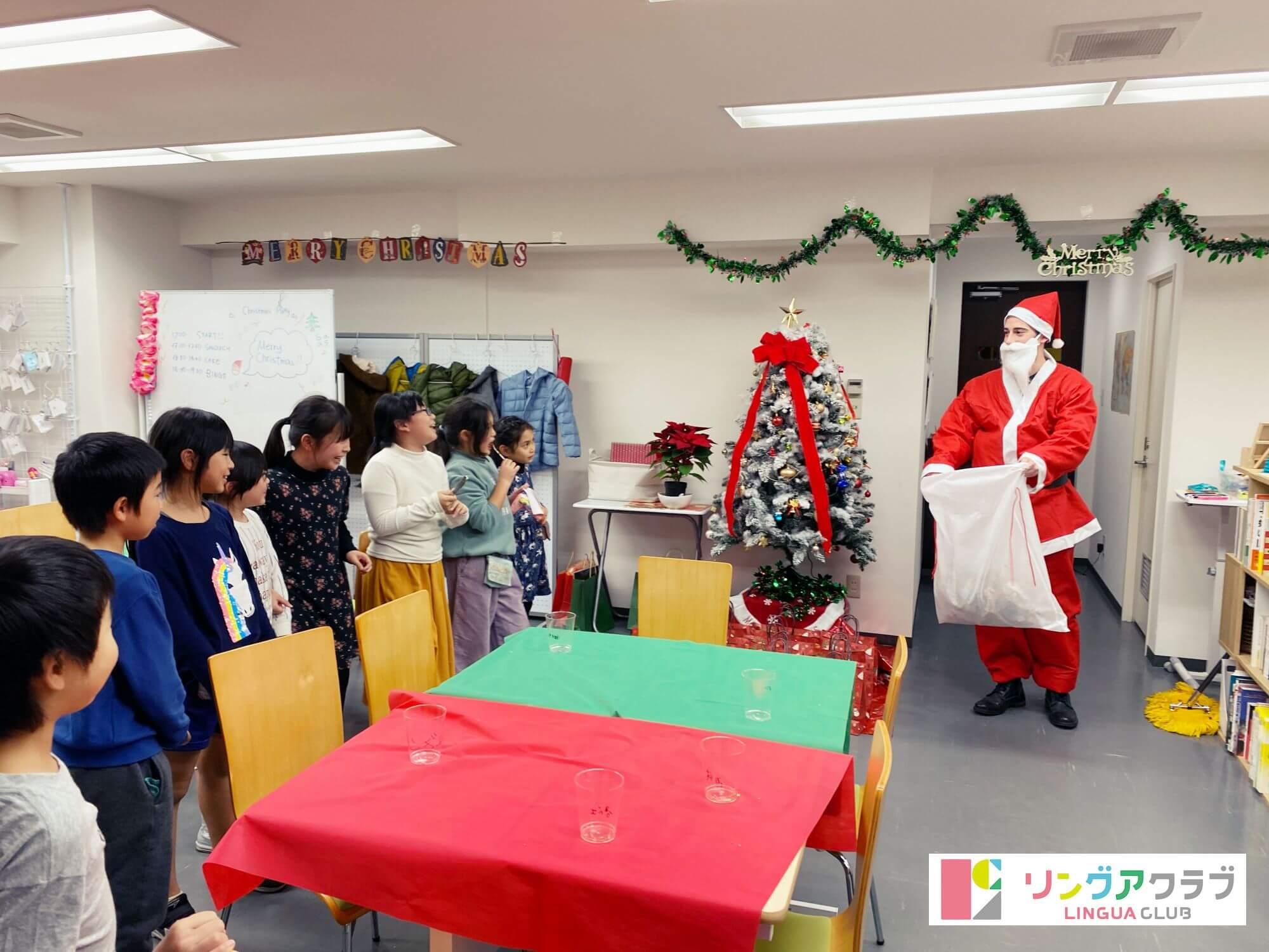 サンタクロース登場!!